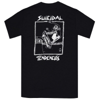 SUICIDAL TENDENCIES Pool Skater Tシャツ BLACK
