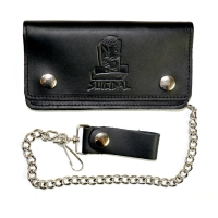 SUICIDAL TENDENCIES Leather Chain Wallet 財布