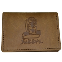 SUICIDAL TENDENCIES × DOGTOWN Bifold Premium Leather カードケース