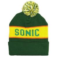 SONIC YOUTH Logo Green ボンボン ニット帽