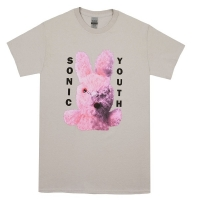 SONIC YOUTH Dirty Bunny Tシャツ LIGHT GREY