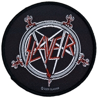 SLAYER Pentagram Patch ワッペン