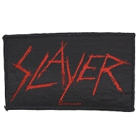 SLAYER Scratched Logo Patch ワッペン