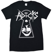 THE ADICTS Keyhole Tシャツ