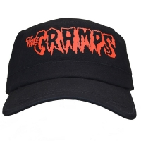 THE CRAMPS Red Logo アーミーキャップ