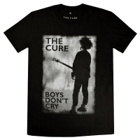 THE CURE Boys Don't Cry B&W Tシャツ