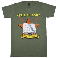 THE CLASH Know Your Rights Tシャツ