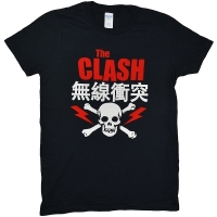 THE CLASH Bolt Red Tシャツ