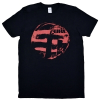 THE CURE Eastern Red Logo Tシャツ