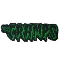 THE CRAMPS Logo Patch ワッペン