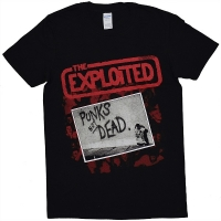 THE EXPLOITED Punks Not Dead Tシャツ