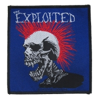 THE EXPLOITED Mohican Patch ワッペン