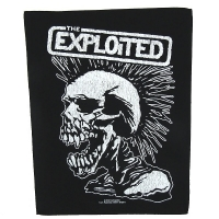 THE EXPLOITED Vintage Skull バックパッチ