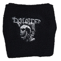 THE EXPLOITED Mohican Skull リストバンド