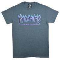 THRASHER Flame Logo Tシャツ USA企画