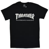 THRASHER Skate Mag Logo Tシャツ BLACK USA企画