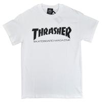 THRASHER Skate Mag Logo Tシャツ WHITE USA企画