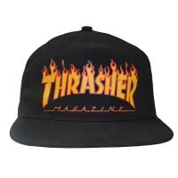 THRASHER Flame Logo スナップバック キャップ USA企画