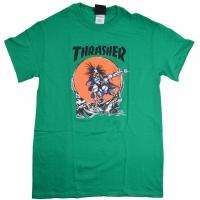 THRASHER SK8 OUTLAW PUSHEAD Tシャツ