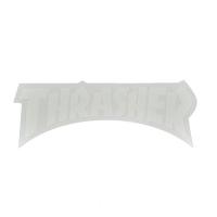 THRASHER Die Cut Logo ステッカー WHITE USA企画