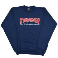 THRASHER Outlined Mag Logo スウェット トレーナー USA企画