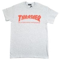 THRASHER Skate Mag Logo Tシャツ GREY USA企画