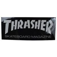 THRASHER Skate Mag Logo ステッカー BLACK USA企画