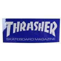 THRASHER Skate Mag Logo ステッカー BLUE USA企画