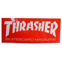 THRASHER Skate Mag Logo ステッカー RED USA企画