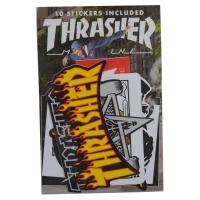 THRASHER 10枚 ステッカー パック USA企画