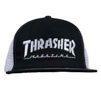 THRASHER Embroid Mag Logo メッシュキャップ USA企画