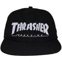 THRASHER Magazine Logo Felt スナップバックキャップ USA企画