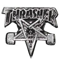THRASHER Skategoat ピンバッジ USA企画