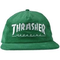 THRASHER Mag Logo コーデュロイキャップ USA企画