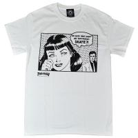 THRASHER Boyfriend Tシャツ WHITE USA企画