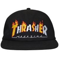 THRASHER Flame Mag スナップバックキャップ USA企画