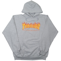 THRASHER Flame Logo プルオーバー パーカー USA企画