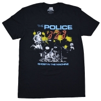 THE POLICE Ghost In The Machine Live Tシャツ