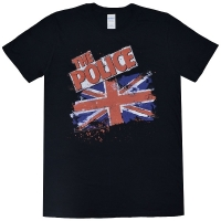 THE POLICE Union Jack Tシャツ