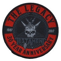 TESTAMENT The Legacy 30 Years Patch ワッペン