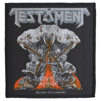 TESTAMENT Brotherhood Of The Snake Patch ワッペン