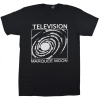 TELEVISION Marquee Moon Tシャツ BLACK