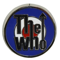 THE WHO Target Logo ピンバッジ