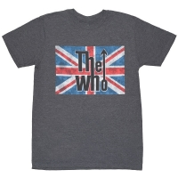 THE WHO Union Jack Logo Tシャツ