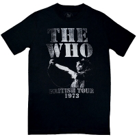 THE WHO British Tour 1973 Tシャツ
