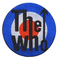 THE WHO Target Logo Patch ワッペン