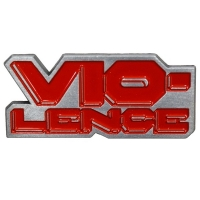VIO-LENCE Logo ピンバッジ