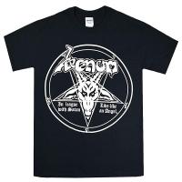VENOM In League With Satan Tシャツ