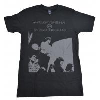 THE VELVET UNDERGROUND White Light / White Heat Tシャツ BLACK