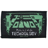 VOIVOD Killing Technology Patch ワッペン